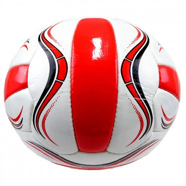 Perrini Premier Plus Indoor Outdoor Sports White Red Ball Size 5