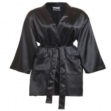 Satin Robes - Front Pocket