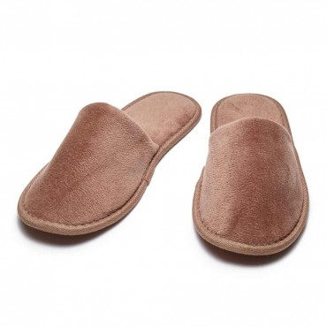 Closed Toe Terry Slippers