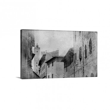 San Gimignano Tuscany Wall Art - Canvas - Gallery Wrap