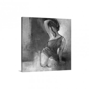 Seated Woman I I Wall Art - Canvas - Gallery Wrap