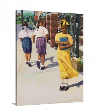 Separate Ways 2001 Wall Art - Canvas - Gallery Wrap