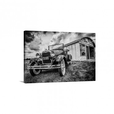 Slim's Garage Wall Art - Canvas - Gallery Wrap
