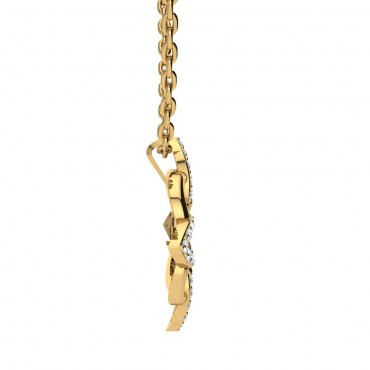 Sofia Diamond Pendant - Yellow Gold