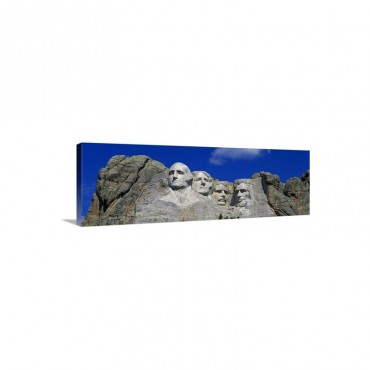 South Dakota Mount Rushmore Wall Art - Canvas - Gallery Wrap
