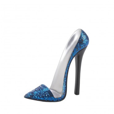 Sparkle Blue Shoe Phone Holder