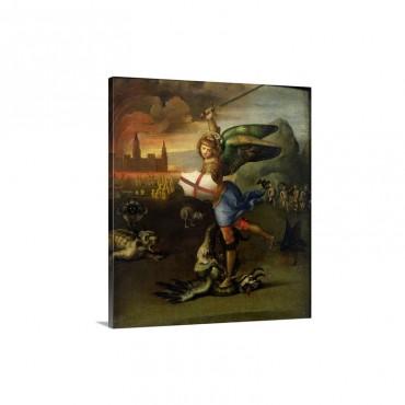 St Michael C 1503 05 Wall Art - Canvas - Gallery Wrap
