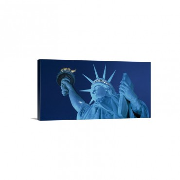 Statue Of Liberty New York City Wall Art - Canvas - Gallery Wrap