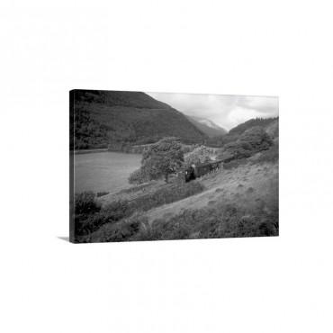 Steam Railway Talyllyn Gwynedd Wales Wall Art - Canvas - Gallery Wrap