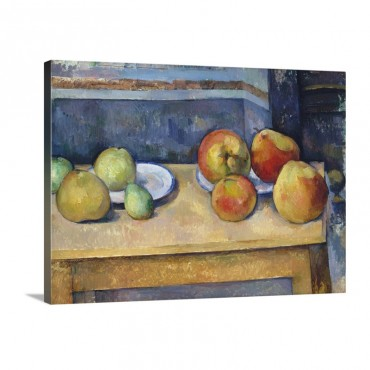 Still Life With Apples And Pears Wall Art - Canvas - Gallery Wrap