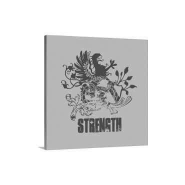 Strength Wall Art - Canvas - Gallery Wrap
