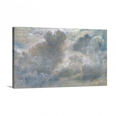 Study Of Cumulus Clouds 1822 Wall Art - Canvas - Gallery Wrap