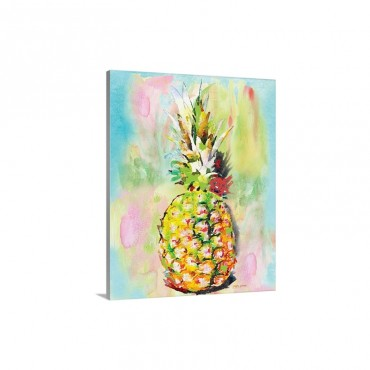 Sunshine Pineapple Wall Art - Canvas - Gallery Wrap