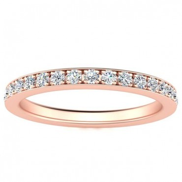 Sydney Diamond Eternity Ring - Rose Gold