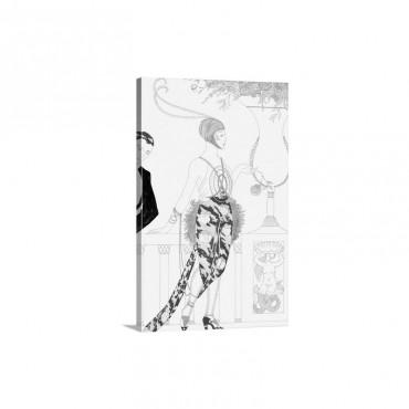 Arte Deco Fashion I I Wall Art - Canvas - Gallery Wrap