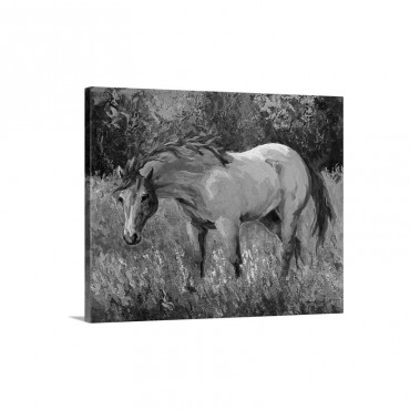 Dunn Mare Wall Art - Canvas - Gallery Wrap
