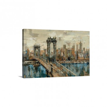 New York View Wall Art - Canvas - Gallery Wrap