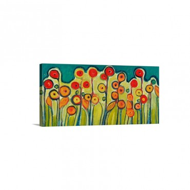 New Growth in Bloom Wall Art - Canvas - Gallery Wrap