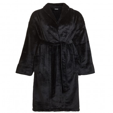 Micro Fleece Shawl Robe