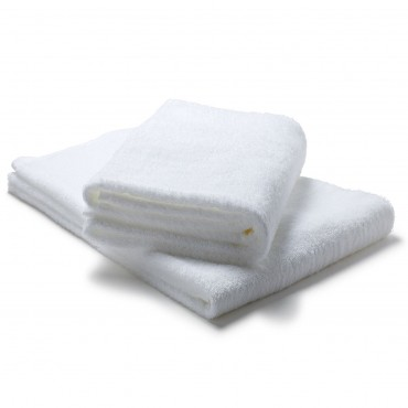 Dozen Bath Sheet Towel Set White - 35 in. x 70 in.