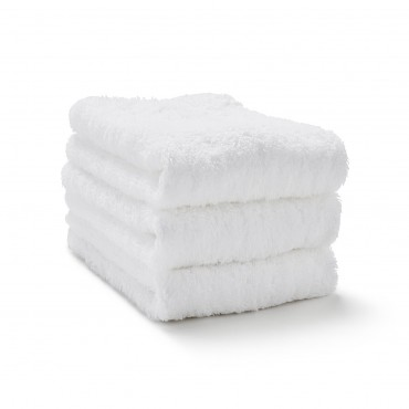 Dozen Washcloth Towel Set White - 13 in. x 13 in.
