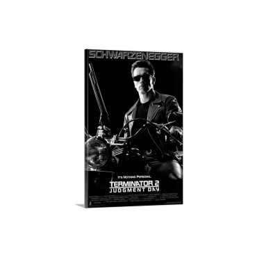 Terminator 2 Judgment Day 1991 Wall Art - Canvas - Gallery Wrap