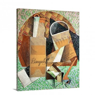 The Bottle Of Banyuls 1914 Wall Art - Canvas - Gallery Wrap