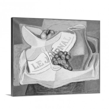 The Bunch Of Grapes La Grappe De Raisins 1925 Wall Art - Canvas - Gallery Wrap