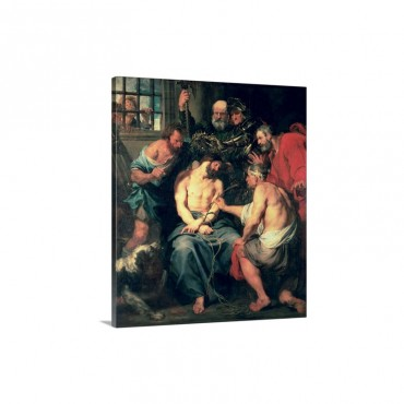 The Crowning With Thorns 1618 20 Wall Art - Canvas - Gallery Wrap