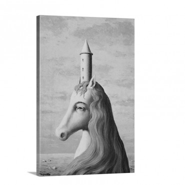 The Enchanted Domain Unicorn C 1957 Wall Art - Canvas - Gallery Wrap
