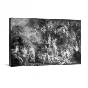 The Feast Of Venus Wall Art - Canvas - Gallery Wrap