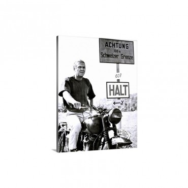 The Great Escape 1963 Wall Art - Canvas - Gallery Wrap