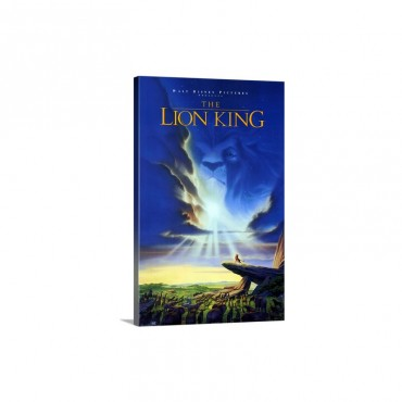 The Lion King 1994 Wall Art - Canvas - Gallery Wrap