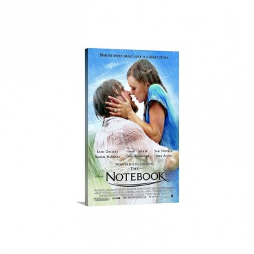 The Notebook 2004 Wall Art - Canvas - Gallery Wrap