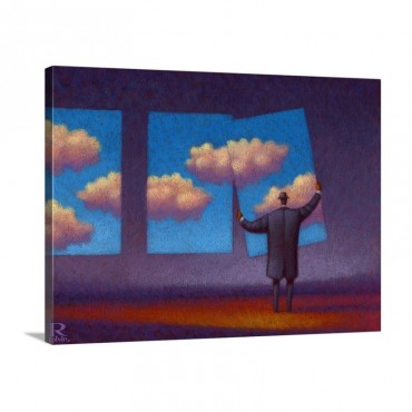The Sky Collector Wall Art - Canvas - Gallery Wrap