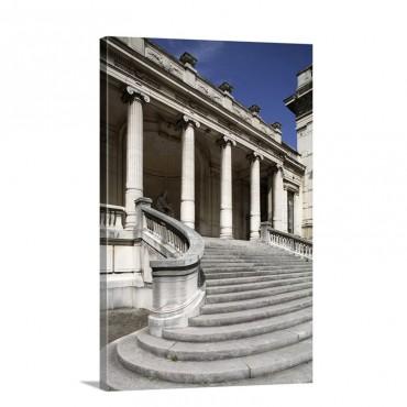 The Entrance Staircase Of Musee De La Mode Et Du Costume Palais Galliera Paris France Wall Art - Canvas - Gallery Wrap
