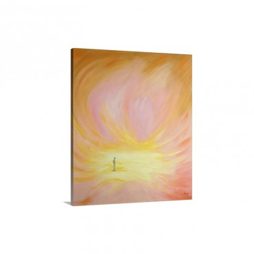 The Purified Soul Is Like A Bright Beautiful Chamber Wall Art - Canvas - Gallery Wrap