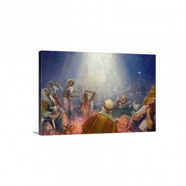 Tidings Of Great Joy Wall Art - Canvas - Gallery Wrap