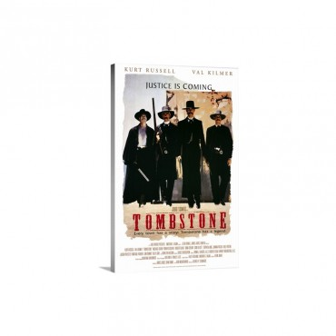 Tombstone 1993 Wall Art - Canvas - Gallery Wrap