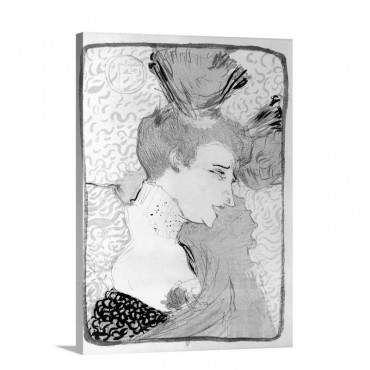 Toulouse Lautrec 1895 Wall Art - Canvas - Gallery Wrap