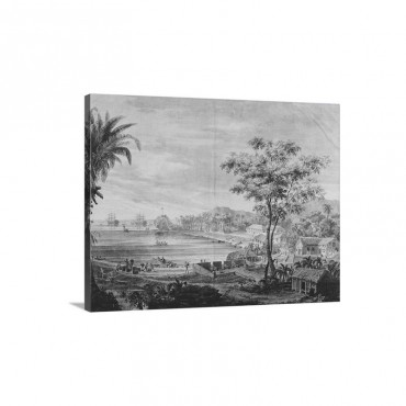 Umatac's Anchorage In Guam Island 1789 94 Wall Art - Canvas - Gallery Wrap