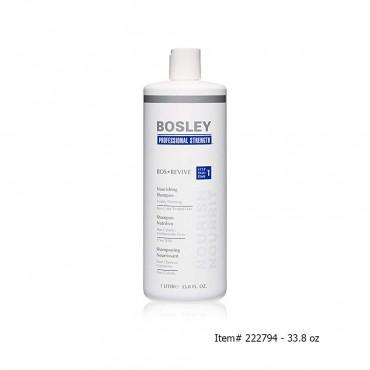 Bosley - Bos Revive Nourishing Shampoo Visibly Thinning Non Color Treated Hair 10.1 oz