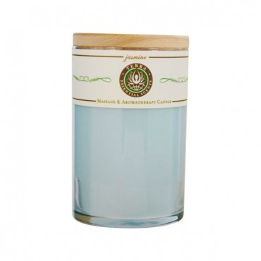 Sweetgrass And Sage Smudge - Massage And Intention Soy Candle 12 oz Tumbler