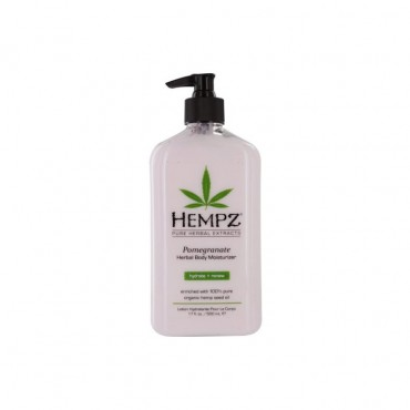 Hempz - Pomegranate Herbal Moisturizer Body Lotion 17 oz