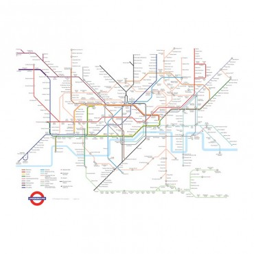 London Underground Complete Station Map