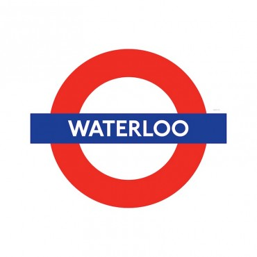 London Underground Waterloo Station Roundel