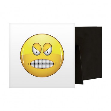 Furious Emoji With Gritted Teeth