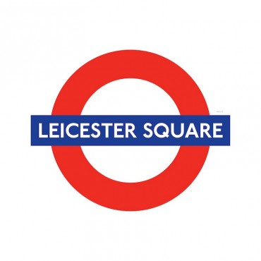 London Underground Leicester Square Station Roundel