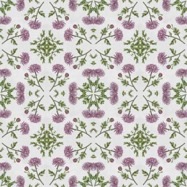 Mosaic Chrysanthemums