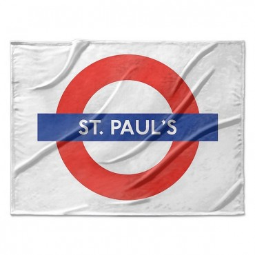 London Underground St. Paul's Station Roundel